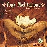 img - for Yoga Meditations 2016 Wall Calendar book / textbook / text book
