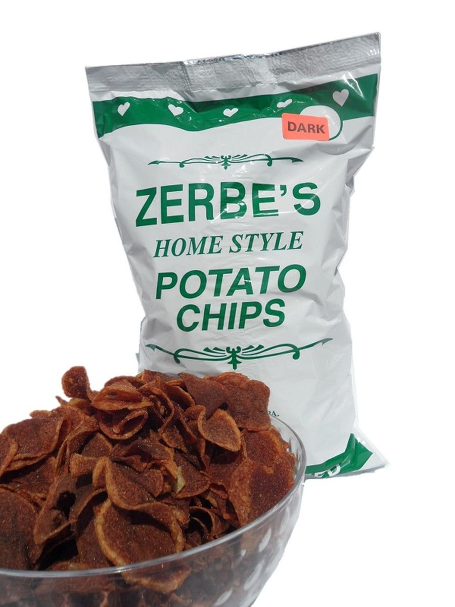"Home Style ""Dark"" Potato Chips"