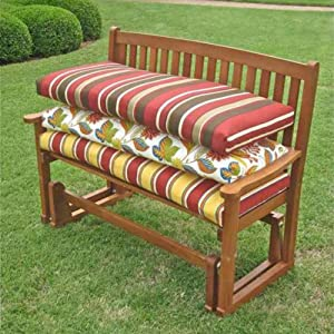 Amazon Outdoor Bench Cushion Color Kingsley Stripe