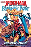 img - for Spider-Man and The Fantastic Four: Silver Rage book / textbook / text book