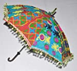 Embroidered Home D�cor Cotton Sun Umb...