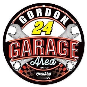 Jeff Gordon Nascar #24 Round Garage Sign-12 by WinCraft