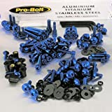 PRO BOLT FULL MONTY BOLT KIT FITS SUZUKI TL1000S 1997-2003 BLUE