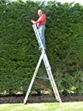 8 Rung Combi All-In-One Extension Ladder, Step Ladder & Free Standing Ladders