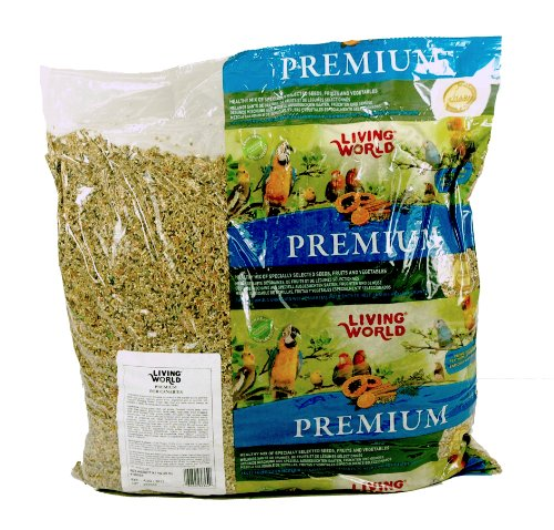 Cheap Living World Premium Bird Canary Mix, 20-Pound (B0017JJU36)