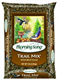 Morning Song 1022297 Trail Mix Nut Loving Wild Bird Food Bag, 5-Pound