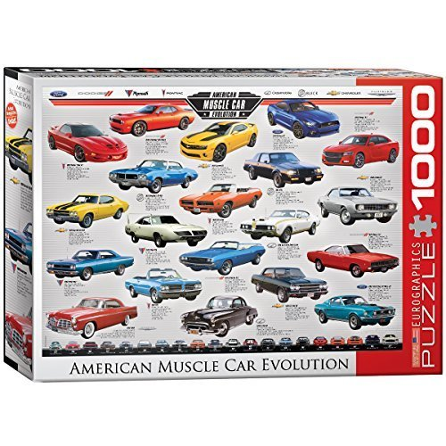 EuroGraphics-Muscle-Car-Evolution-Jigsaw-Puzzle-1000-Piece-by-Eurographics-Toys