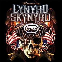 Lynyrd Skynyrd 2016 Wall Calendar by 2016 Calendars