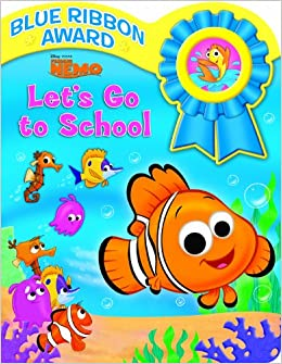 Finding Nemo, Let's Go to School Sound Book: Editors of Publications