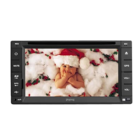 VšŠhicule En Dash New HD š€ šŠcran tactile de 6,2 pouces 2 Double Din In Stereo voiture Dash Radio Lecteur DVD Bluetooth FM MP3 USB SD Aux Headunit Audio VidšŠo PC de voiture