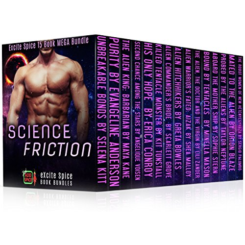 Science Friction: 15 Book MEGA Bundle (Excite Spice Boxed Sets)
