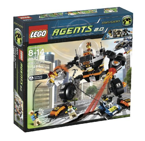 LEGO Agents Robo Attack (8970) Amazon.com