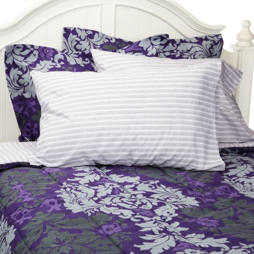 Westpoint Home Queen Bed In A Bag, Plum