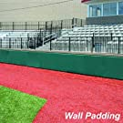 Jaypro Sports FWP246 4 ft. x 6 ft. x 2 in. Field Wall Pad