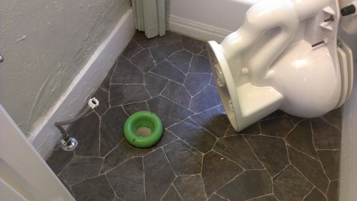Sani Seal Llc Bl01 Waxless Toilet Gasket Toilet Wax Seal