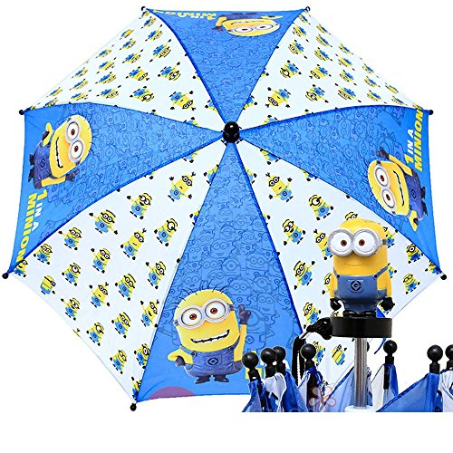 2015-New-Minions-White-Blue-Kids-Umbrellas-8710