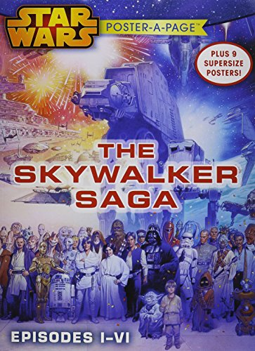 Star Wars Episodes I-VI: The Skywalker Saga Poster-A-Page