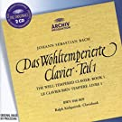 Bach: The Well-Tempered Clavier, Book 1 (BWV 846-869)