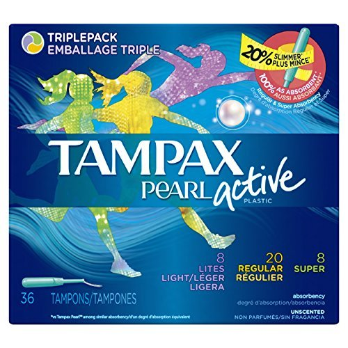 tampax-pearl-active-plastic-triplepack-light-regular-super-absorbency-unscented-tampons-36-count-by-