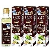 日本製粉 アマニ油 ゴールデンフラックスシード<186g>3本セット
