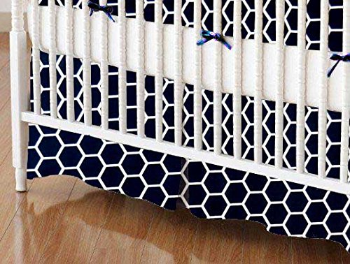 Crib Bed Skirts 4315 front