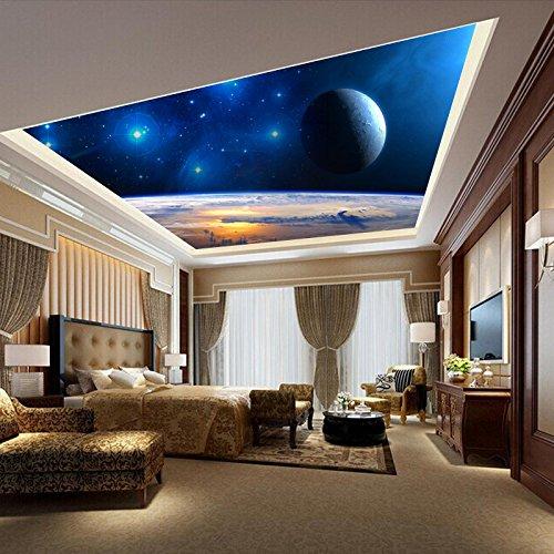 feis-sterne-tapete-an-der-decke-deckenfresken-reflektierende-tv-hintergrund-mauer-ktv-bar-hotel-vlie