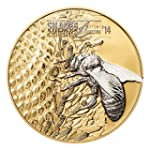 Shades of Nature - Bee $5 Silver Coin...