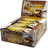 Quest Nutrition Chocolate Peanut Butter Quest Bar Protein Bar - Pack of 12 Bars