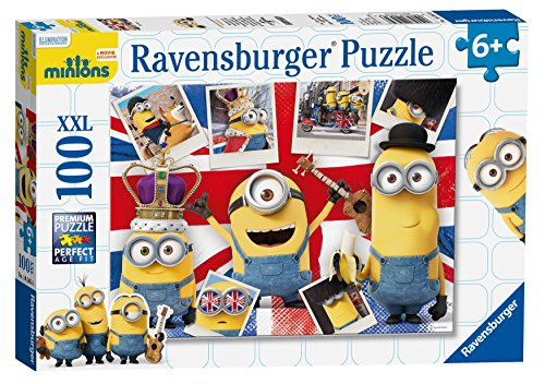 Ravensburger Minions Movie XXL 100 Piece Jigsaw Puzzle
