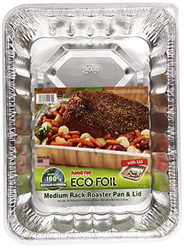 Handi Foil Cook-N-Carry Medium Roaster w/Lid (Handy Roaster compare prices)