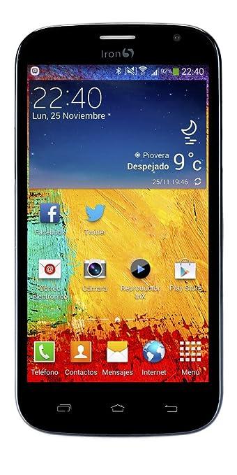 Iron 5 Venom 8GB Negro Smartphone débloqué (5 pouces - 8 Go) Noir (import Espagne)