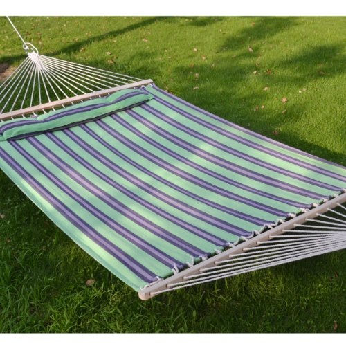 hammock-double-size-quilted-fabric-heavy-duty-sleep-bed-w-pillow-wooden-stick-stripe-purple-green-co