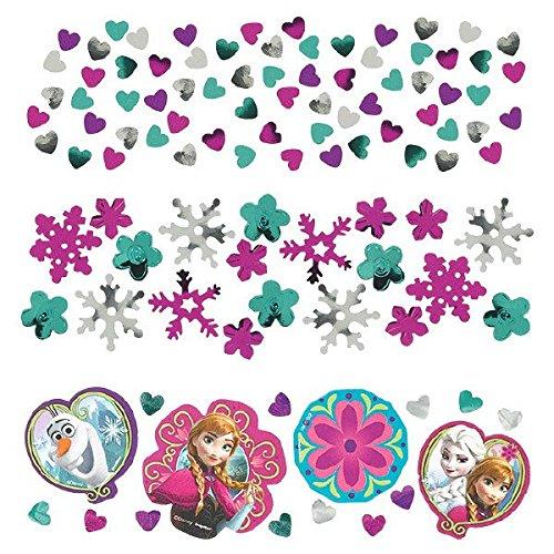 Amscan Disney Frozen Foil Confetti Value Pack