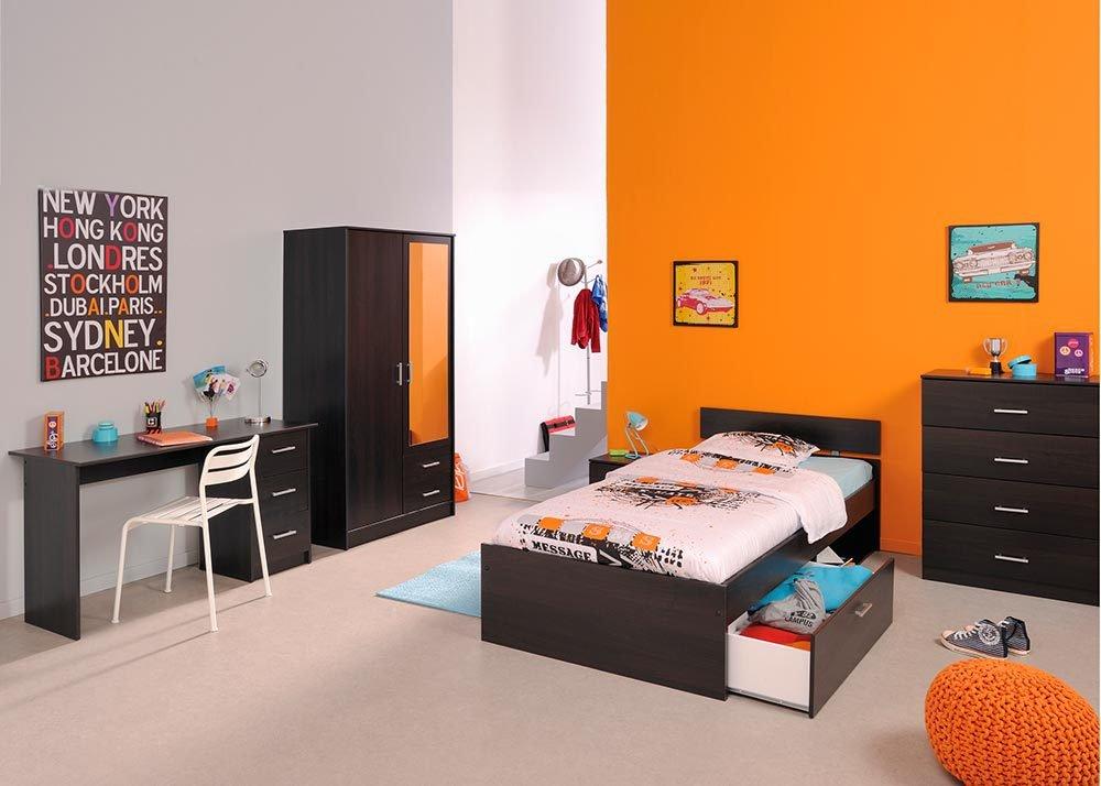 Jumbo-Möbel Kinderzimmer-Set INFINITY in Kaffee 5 tlg.