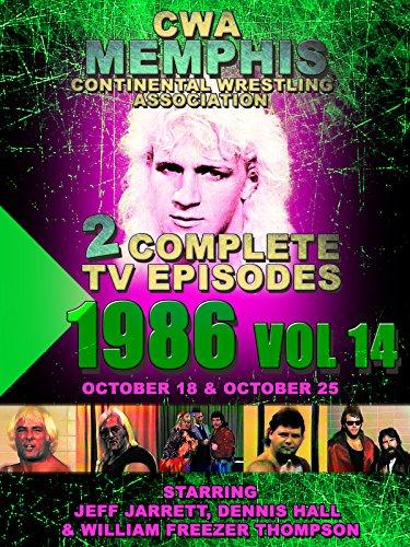 CWA Memphis Wrestling 2 Complete TV Episodes 1986 Vol 14