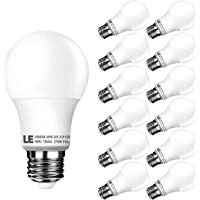 12-Pack LE A19 60W LED Bulbs