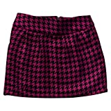 Girls' Cherokee Pink Houndstooth Pencil Skirt
