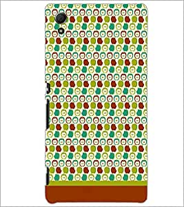 PrintDhaba Pattern D-1619 Back Case Cover for SONY XPERIA Z4 (Multi-Coloured)