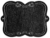Creative Teaching Press Chalkboard Labels, Black/White (0725)