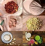 BOLSA-DE-LECHE-VEGETAL-NECTARBAR-Eco-RAW-FOOD-FILTER-BAG-Malla-fina-para-LECHE-DE-NUECES-leche-de-almendras-leche-de-granos-para-fermenter-queso-vegano-para-zumo-jugo-horchata-brotes-germinados-de-nue