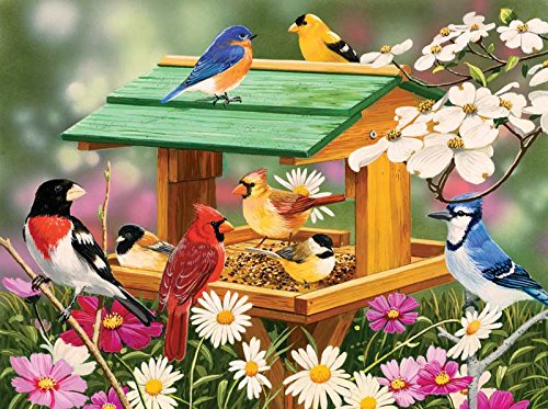 Spring Feast a 1000-Piece Jigsaw Puzzle by Sunsout Inc.
