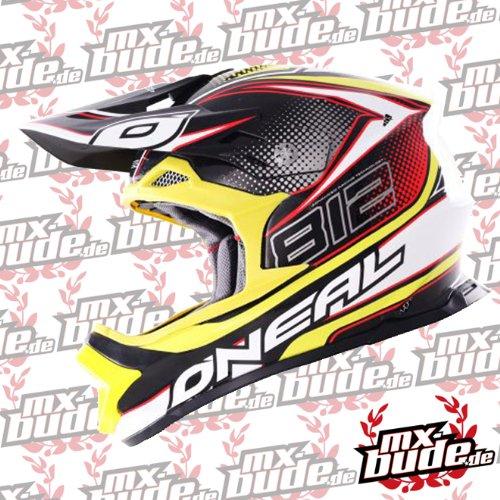O'neal 812 Motocross Enduro MTB Helm gelb Oneal: Größe: XXL (64-65 cm)