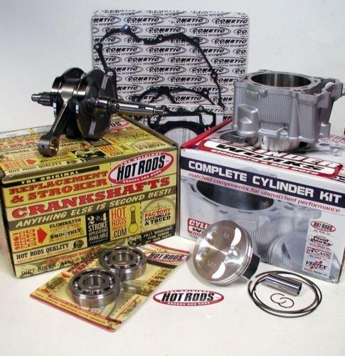 Cylinder Works Standard Bore Kit with Hot Rods Complete Crankshaft Bottom End Kit for Honda CRF 450X 2005-2014 (Honda Crf 450 Crankshaft compare prices)