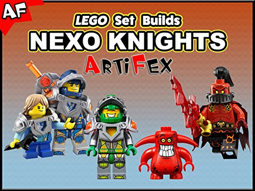 Clip: Lego Set Builds Nexo Knights - Season 2
