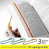 BOOKMARK RUBBER(3PCS/SET) ブックマークラバー_3色セット