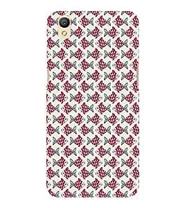 EPICCASE zig zag fishes Mobile Back Case Cover For OPPO A37 (Designer Case)