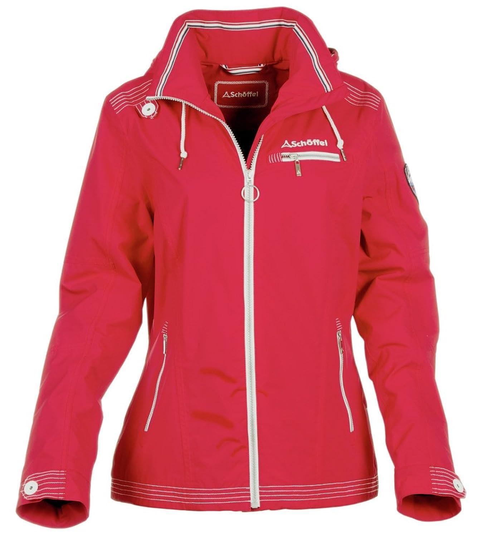 Schöffel Jacke Marie Wetterjacke Rot jetzt kaufen