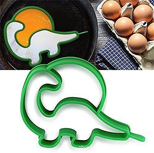 1pcs Creative Models for Silicone Cartoon dinosaur shaper silicone Fired Egg - cooking kitchen tools
