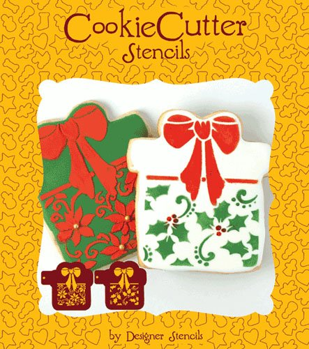 Holiday Gift Present Cookie Set (no cutter)