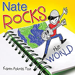 Nate Rocks the World Audiobook